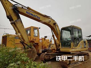 广西-来宾市二手小松PC130-7挖掘机实拍照片