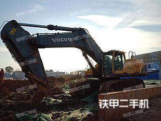 湖南-长沙市二手沃尔沃EC700BLC挖掘机实拍照片
