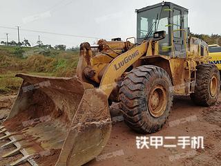 四川-广安市二手柳工ZL50CN装载机实拍照片