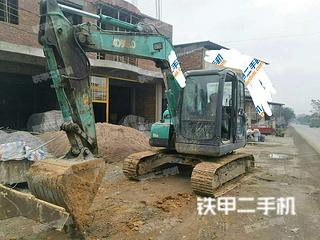 广西-来宾市二手神钢SK75-8挖掘机实拍照片