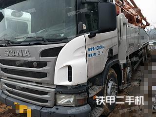 中聯重科四橋56米斯坦尼亞泵車實拍圖片