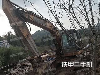 重庆-重庆市二手凯斯CX130B挖掘机实拍照片