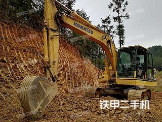 湖南-邵阳市二手小松PC130-8挖掘机实拍照片