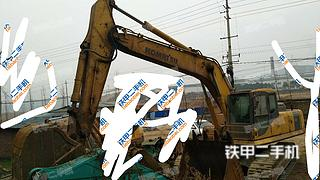 四川-广元市二手小松PC270-7挖掘机实拍照片