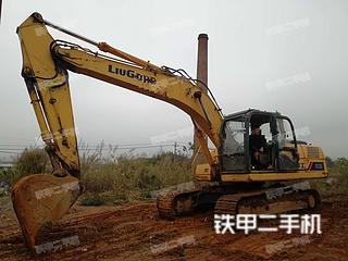 广西-来宾市二手柳工CLG920D挖掘机实拍照片