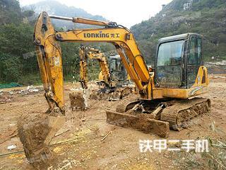 广西-柳州市二手龙工LG6060D挖掘机实拍照片