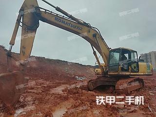 湖南-娄底市二手小松PC360-7挖掘机实拍照片