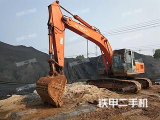 浙江-金华市二手日立ZX210H-3G挖掘机实拍照片