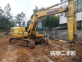 江西-吉安市二手小松PC110-7挖掘机实拍照片