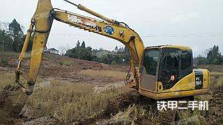 四川-南充市二手小松PC130-7挖掘机实拍照片