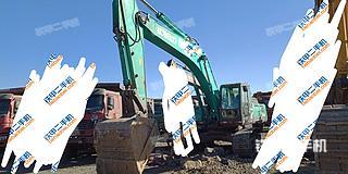 内蒙古-包头市二手神钢SK350LC-8挖掘机实拍照片