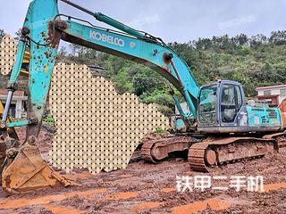 江西-赣州市二手神钢SK350LC-8挖掘机实拍照片