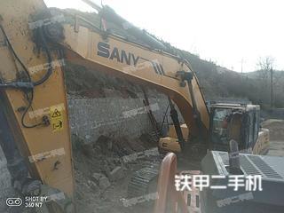 陕西-延安市二手三一重工SY285C挖掘机实拍照片