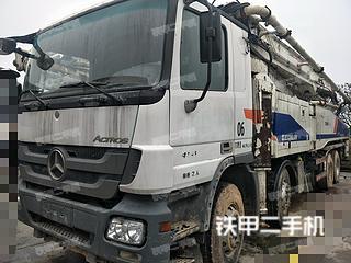 江苏-南京市二手中联重科ZLJ5419THB 52X-6RZ泵车实拍照片