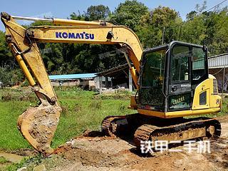 广西-玉林市二手小松PC70-8挖掘机实拍照片