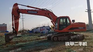 河南-驻马店市二手斗山DH215-7挖掘机实拍照片