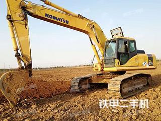 陕西-西安市二手小松PC270-7挖掘机实拍照片