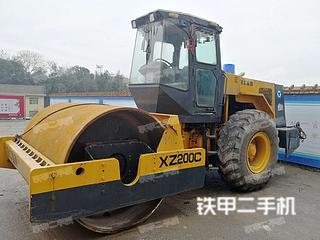 湖南-怀化市二手徐工YZ18JC压路机实拍照片