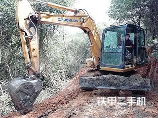 中聯重科ZE75挖掘機實拍圖片