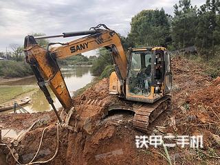 江西-上饶市二手三一重工SY75C-8挖掘机实拍照片