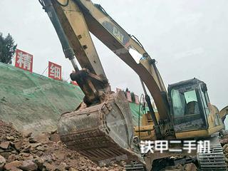 四川-成都市二手卡特彼勒320D液压挖掘机实拍照片