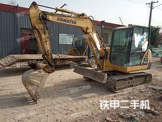 陕西-咸阳市二手小松PC56-7挖掘机实拍照片