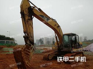 广西-来宾市二手卡特彼勒320C挖掘机实拍照片