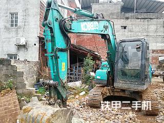 广西-柳州市二手神钢SK75-8挖掘机实拍照片