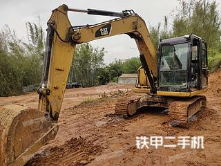 广西-梧州市二手卡特彼勒307E液压挖掘机实拍照片