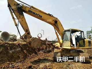 江西-吉安市二手小松PC200-7挖掘机实拍照片