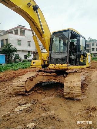 广东-肇庆市二手小松PC200-6挖掘机实拍照片