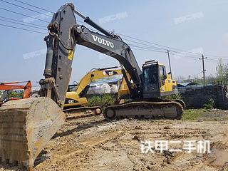 江西-新余市二手沃尔沃EC350D挖掘机实拍照片