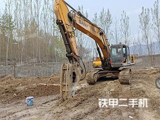 山东-临沂市二手三一重工SY285C挖掘机实拍照片