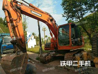 四川-泸州市二手斗山DX120挖掘机实拍照片