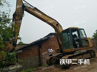 四川-泸州市二手小松PC120-6E挖掘机实拍照片