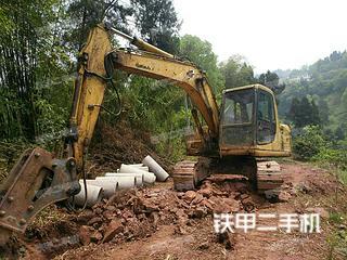 四川-泸州市二手小松PC120-6挖掘机实拍照片