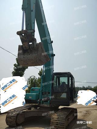 陕西-西安市二手神钢SK250-8挖掘机实拍照片