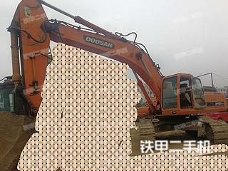 安徽-巢湖市二手斗山DH420LC-7挖掘机实拍照片