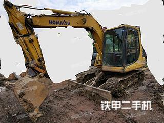 四川-达州市二手小松PC60-7挖掘机实拍照片
