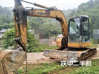 江西-吉安市二手小松PC78US-6NO挖掘机实拍照片