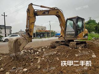 广西-贵港市二手卡特彼勒307C挖掘机实拍照片