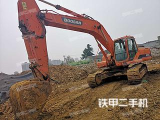 山东-枣庄市二手斗山DH300LC-7挖掘机实拍照片