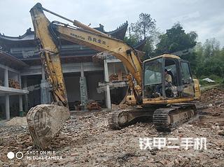 浙江-温州市二手小松PC120-6E挖掘机实拍照片