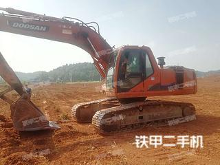 四川-遂宁市二手斗山DH220LC-V挖掘机实拍照片