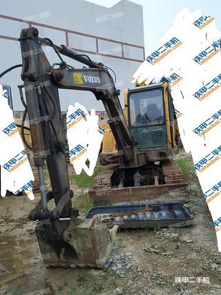 贵州-贵阳市二手沃尔沃EC55B挖掘机实拍照片