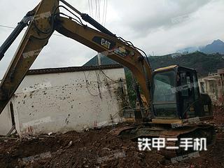 四川-泸州市二手卡特彼勒313D2GC小型液压挖掘机实拍照片