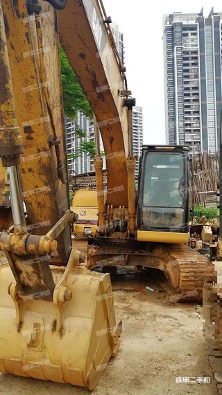 广东-广州市二手卡特彼勒320A挖掘机实拍照片