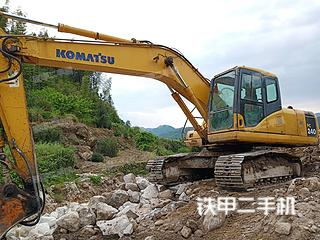 湖南-岳阳市二手小松PC200-7挖掘机实拍照片