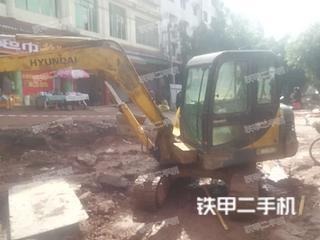 四川-遂宁市二手现代R60-7挖掘机实拍照片