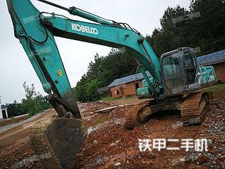 湖南-永州市二手神钢SK250-8挖掘机实拍照片